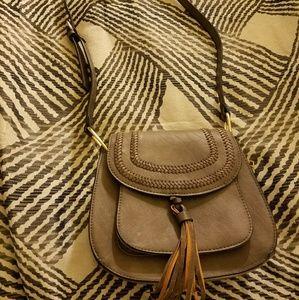 Handbags - Crossbody boho gray purse